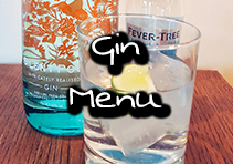 best Gin Menu, gin bar barnsley